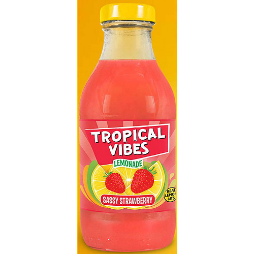 Tropical Vibes Lemonade Sussy Strawberry