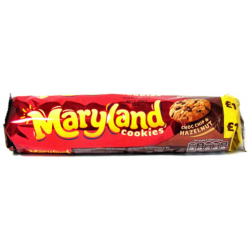 Maryland Choc Chip And Nut PM £1