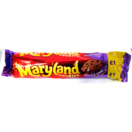 Maryland Cookies Double Choc PM £1