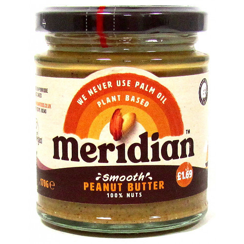 Meridian Smooth Peanut Butter PM £1.69