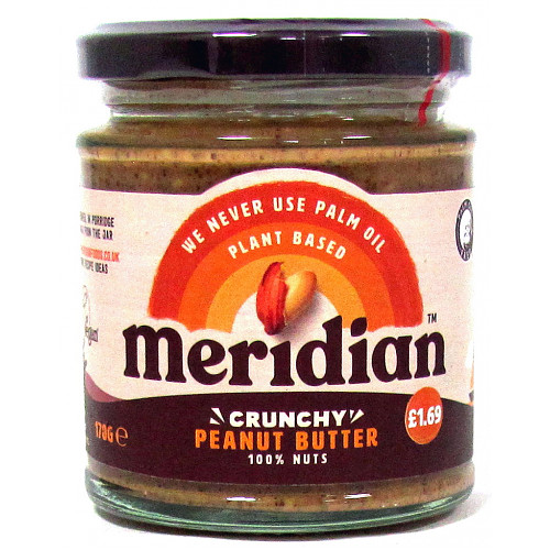 Meridian Crunchy Peanut Butter PM £1.69