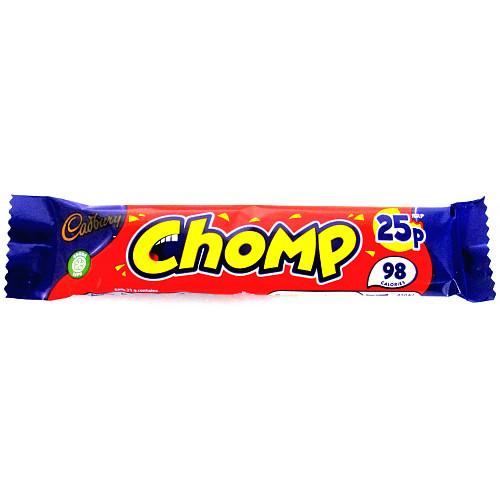Cadburys Chomp PM 25p