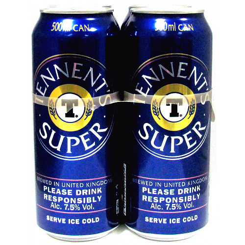 Tennents Super 4 Pack 7.5%