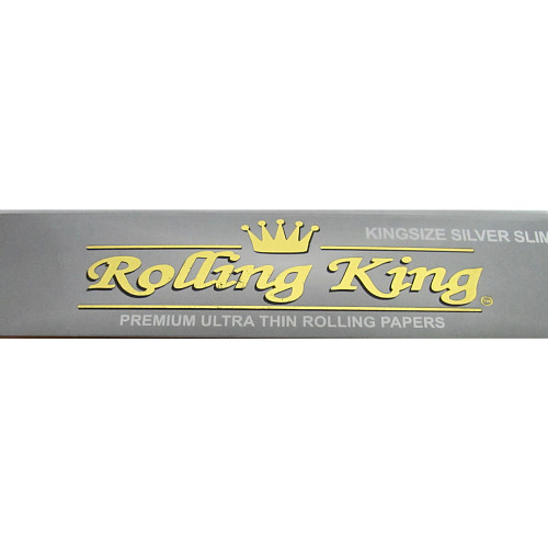 Rolling King Silver Kingsize Slim Papers