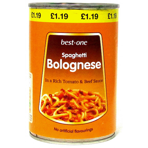Bestone Spaghetti Bolognese PM £1.19