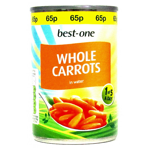Bestone Whole Carrots PM 65p