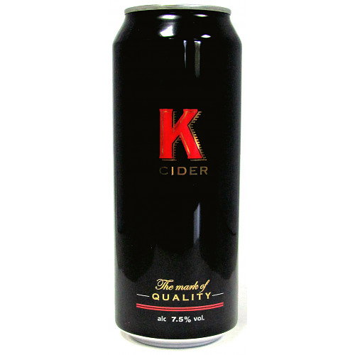 K Cider 7.5% Abv