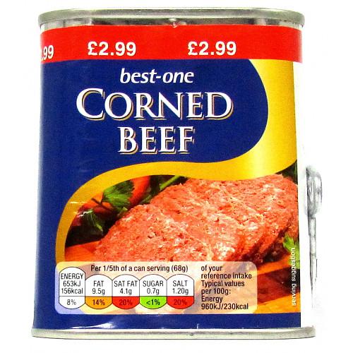 Bestone Corned Beef PM £2.99