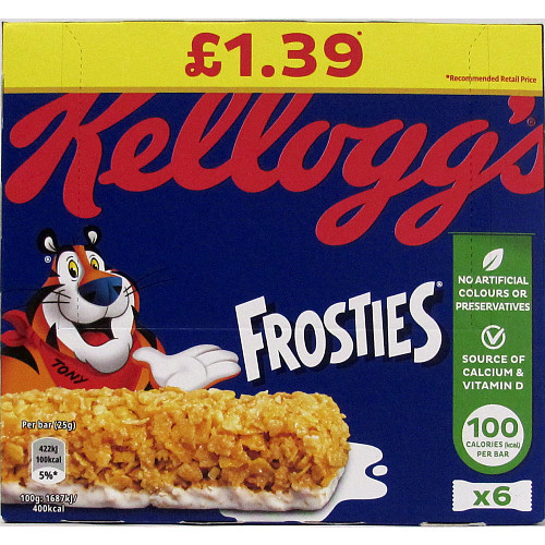 Frosties Cereal Bar PM £1.39