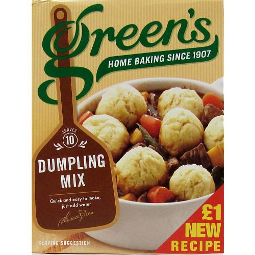 Greens Classic Dumplings Mix PM £1