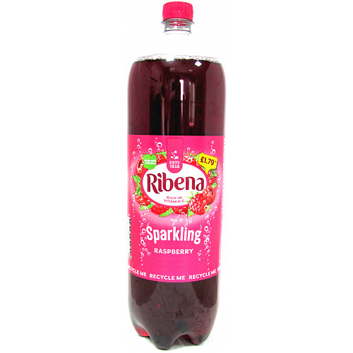 Ribena Sparkling Raspberry PM £1.79