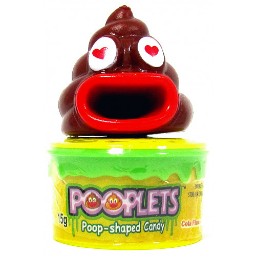 Pooplet Candy Toy With Cola Flavour