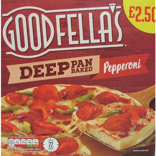 Goodfella's Deep Pan Pepperoni PM £2.50