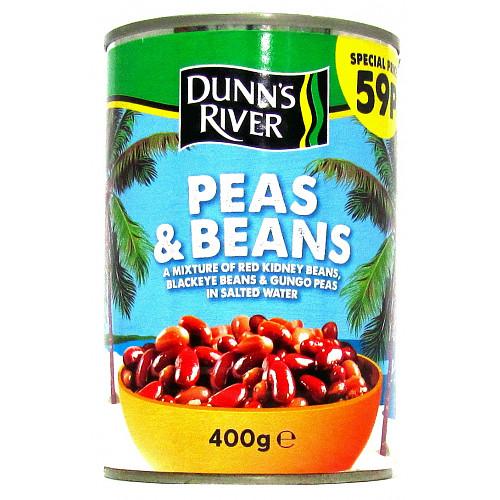 Dunns River Peas & Beans 59p PMP