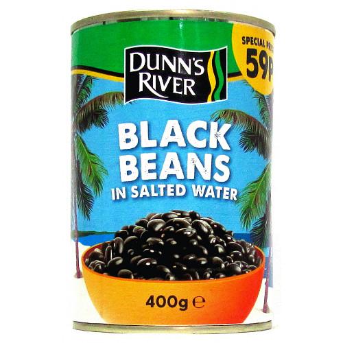Dunns River Black Beans 59p PMP