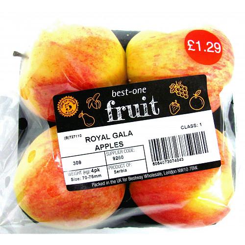 Bestone Royal Gala Apples PM £1.29