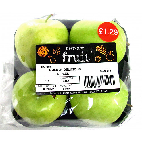 Bestone Golden Delicious Apples PM £1.29