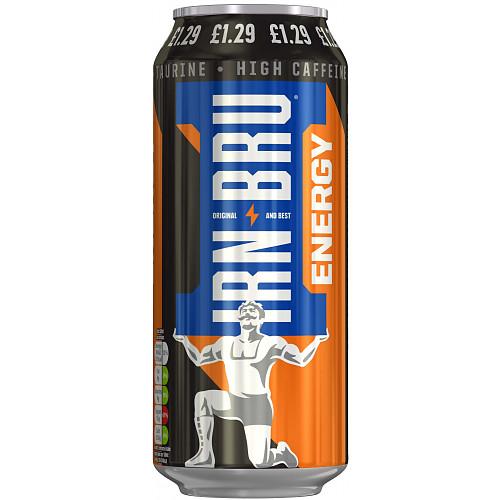 IRN-BRU Energy No Sugar 500ml, £1.19 PMP