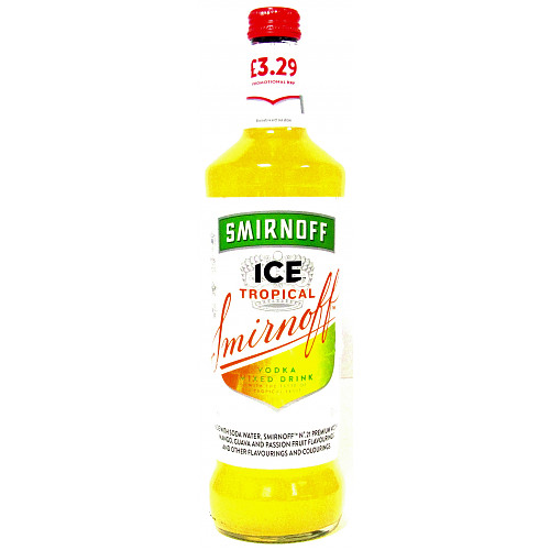 Smirnoff Ice Tropical PM £3.29