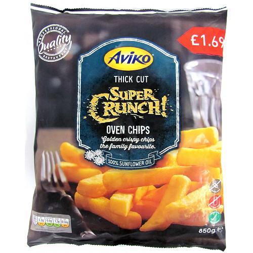 Aviko Super Crunch! Oven Chips Thick Cut 850g