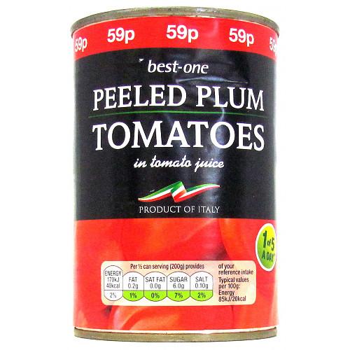 Bestone Plum Tomatoes PM 59p