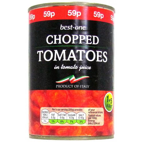 Bestone Chopped Tomatoes PM 59p