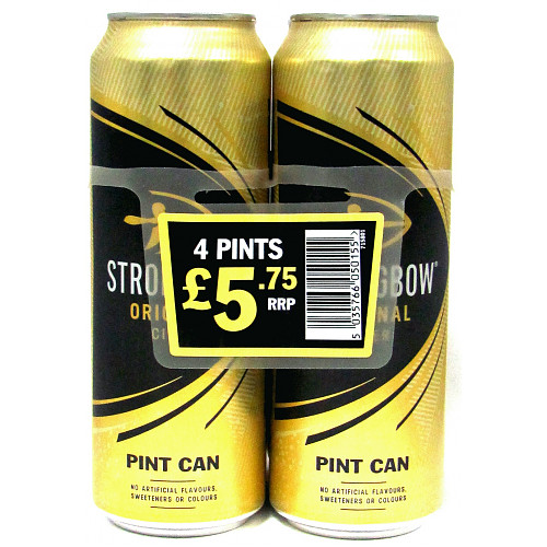 Strongbow Original 4.5% 4 Pack PM £5.75
