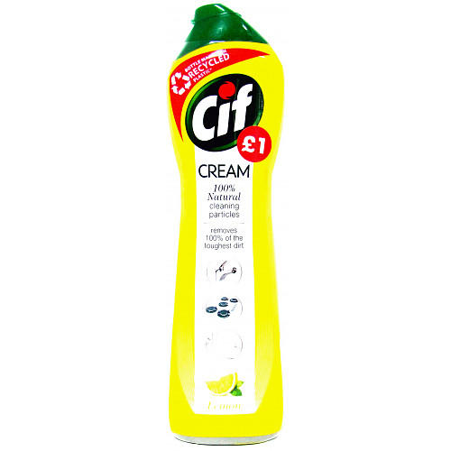 Cif Lemon Cream Cleaner 500 ml