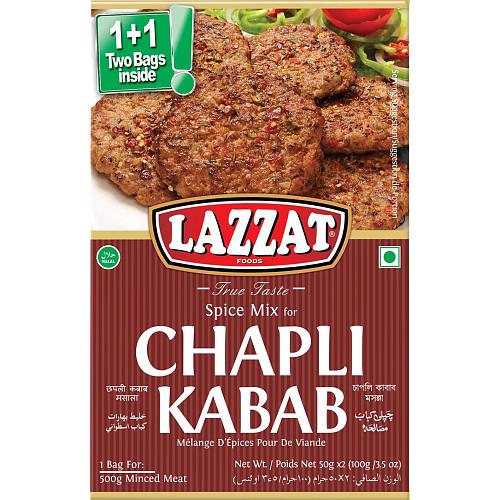 Lazzat Chapli Kabab