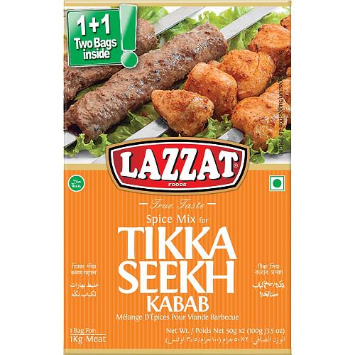 Lazzat Tikka Seekh Kabab