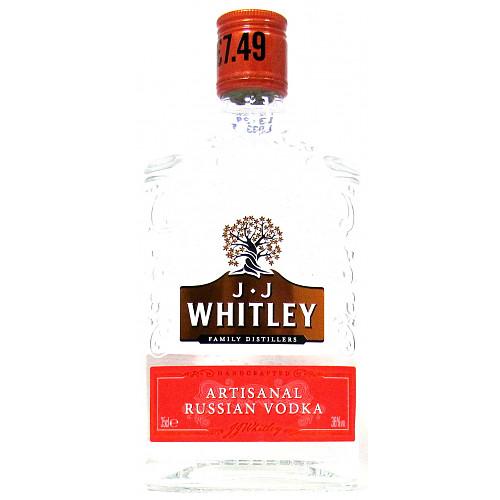 Jj Whitley Artisanal Vodka PM £7.49