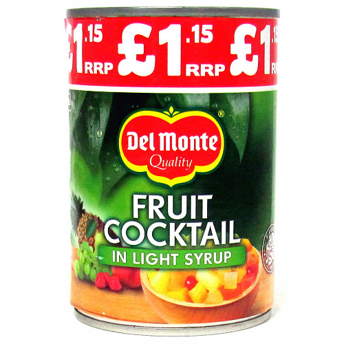 Del Monte Fruit Cocktail In Syrup PM £1.15