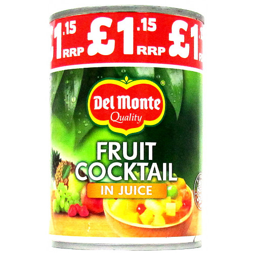 Del Monte Fruit Cocktail In Juice PM £1.15