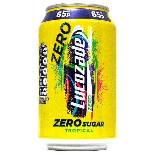 Lucozade Zero Tropical PM 65p