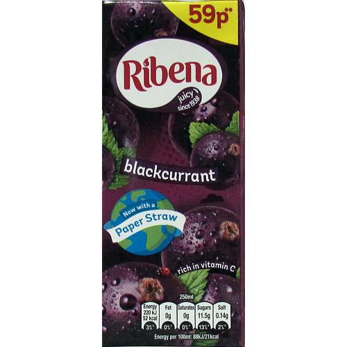 Ribena Blackcurrant PM 59p