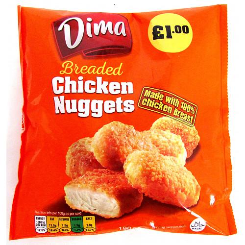 Dima Brd Chkn Nuggets £1