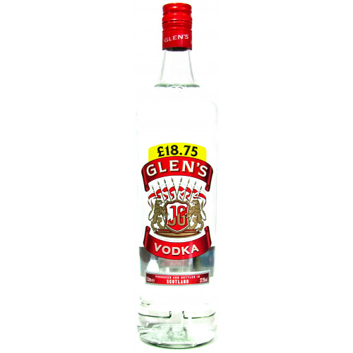 Glens Vodka PM £18.75