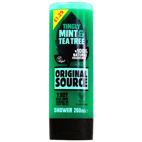 Original Source Shower Mint And Tea PM £1.29