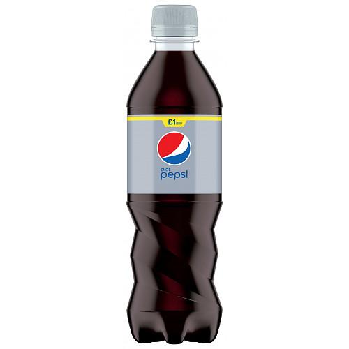 Pepsi Diet Cola Bottle PMP 500ml