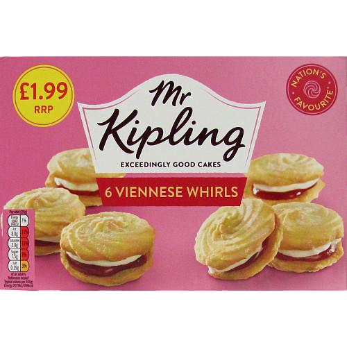 Mr K Viennes Whirls 6pk