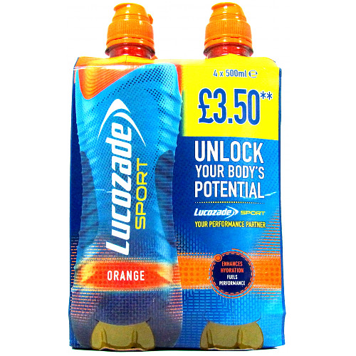 Lucozade Sport Orange Multipack PM £3.50