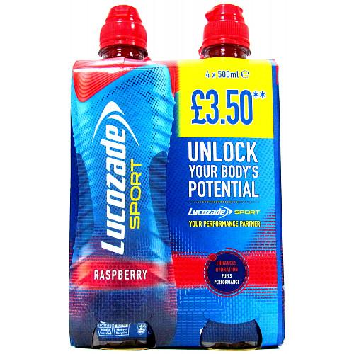 Lucozade Sport Raspberry Multipack PM £3.50