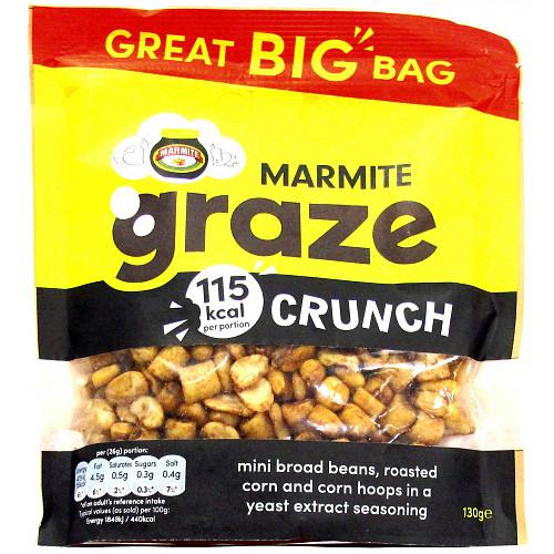 Graze Marmite Crunch Bag