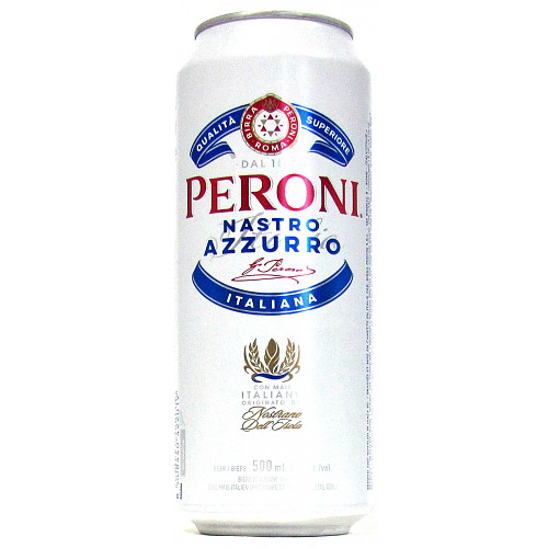 Peroni Cans