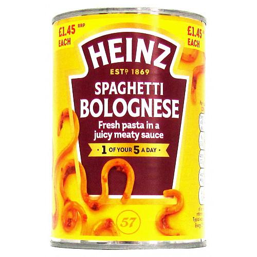Hz Spaghetti Bolog PM £1.45