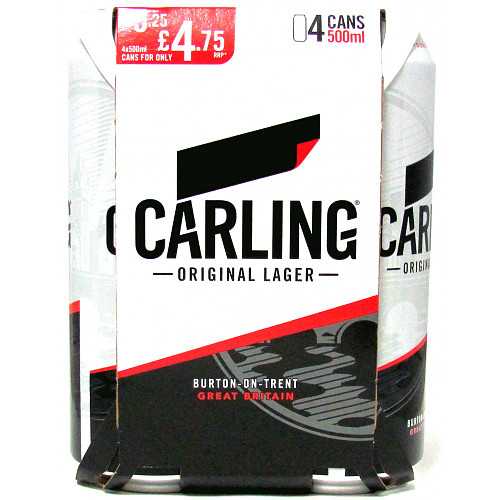 Carling 4 Pack PM £4.75