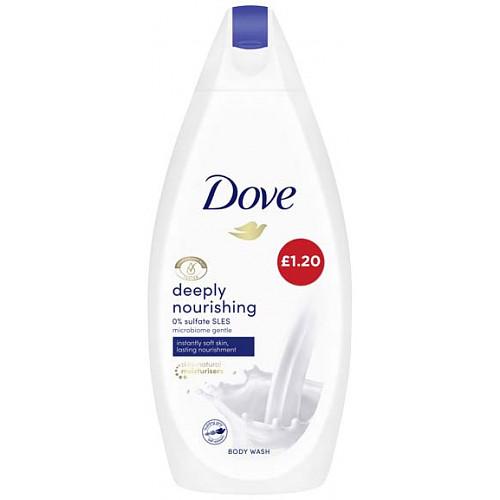 Dove Bodywash Deep Nourishing PM £1.20