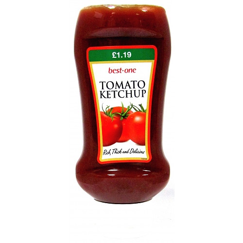 Best-One Tomato Ketchup 506g PM £1.19