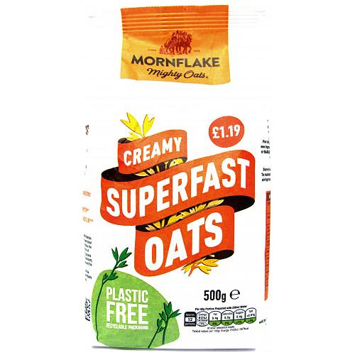 Mornflake Super Fast Oats PM £1.19