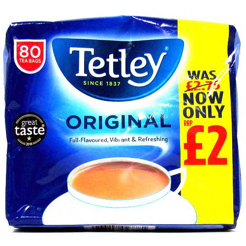Tetley T/Bags £2.75- £2.00